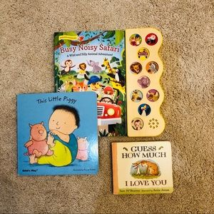 Bundle of Three Books for Toddlers